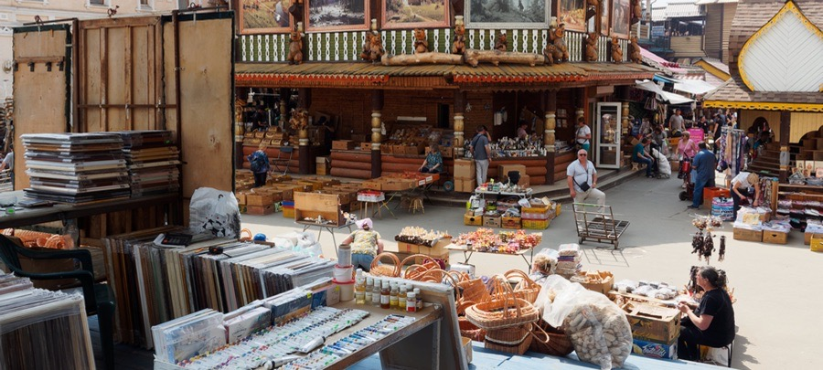 Shopping i Moskva